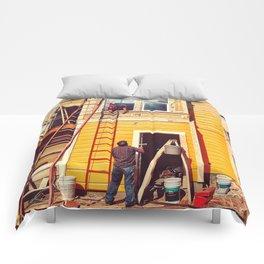 Hardworking Comforters