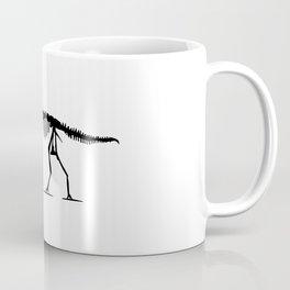 Extinct T-rex Dinosaur on leash Coffee Mug