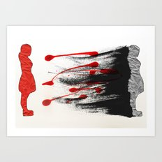 I Was There Art Print