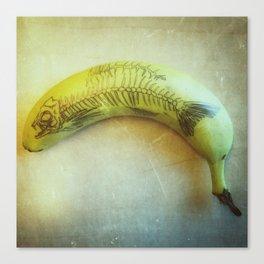 Banana Fish Bone Canvas Print
