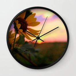And The Sun Will Shine Wall Clock