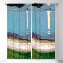Edvard Munch - Moonlight Blackout Curtain