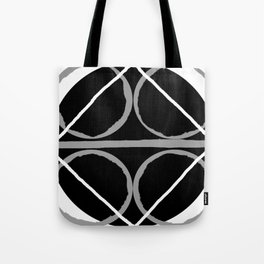 Geometric Unity Centered in a Circle Tote Bag