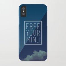 Free Your Mind II iPhone X Slim Case