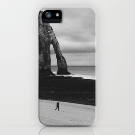 lonely walk iPhone Case