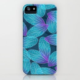Water Fairy Wings iPhone Case