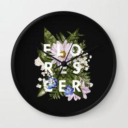 Florescer Wall Clock