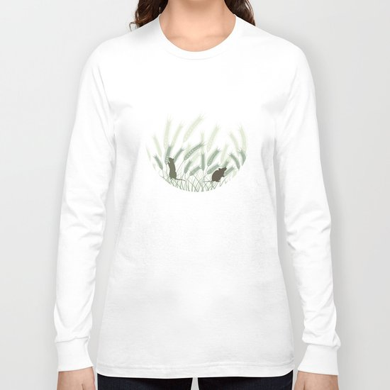 Mice In The Grain No. 1 Long Sleeve T-shirt