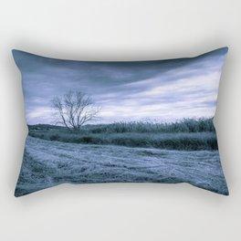 Waiting for the rain Rectangular Pillow