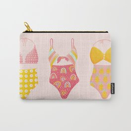 Retro Bathing Suits Carry-All Pouch