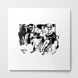 BREAKFAST AT TIFFANYS PAINTINGS Metal Print
