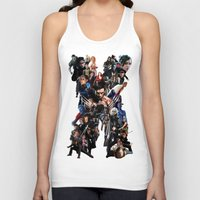 the xx Tank Tops featuring XX by jasonriv37
