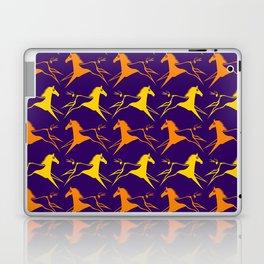 Horse Nation Purple Gold Laptop & iPad Skin