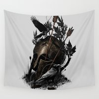 fall Wall Tapestries featuring Legends Fall by nicebleed