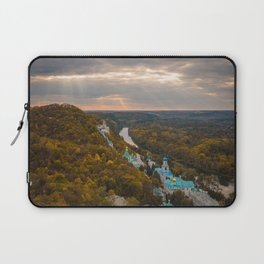 Holy Mountains Monastery (Ukraine) Laptop Sleeve