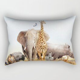 Africa Rectangular Pillow