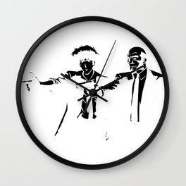 Cowboy Bebop - Spike Jet Knockout Black Wall Clock