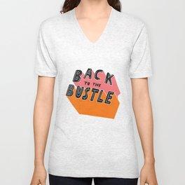 Back to the Bustle Unisex V-Neck