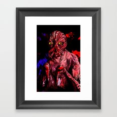 CRABFACE Framed Art Print