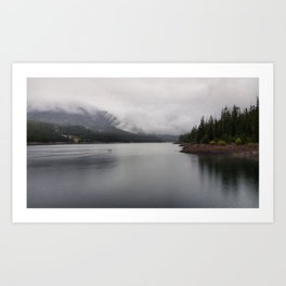 Rainy Hyalite Afternoon Art Print