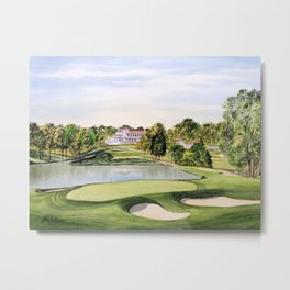 The Congressional Golf Course 10th Hole Metal Print