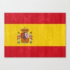 Spain flag Canvas Print