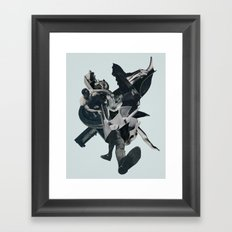 Kissing the Jaws of Life Framed Art Print