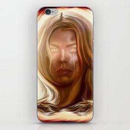 I am the Bad Wolf. I Create Myself. iPhone Skin