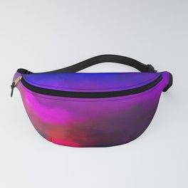 Violet, Red and Yellow Study Fanny Pack