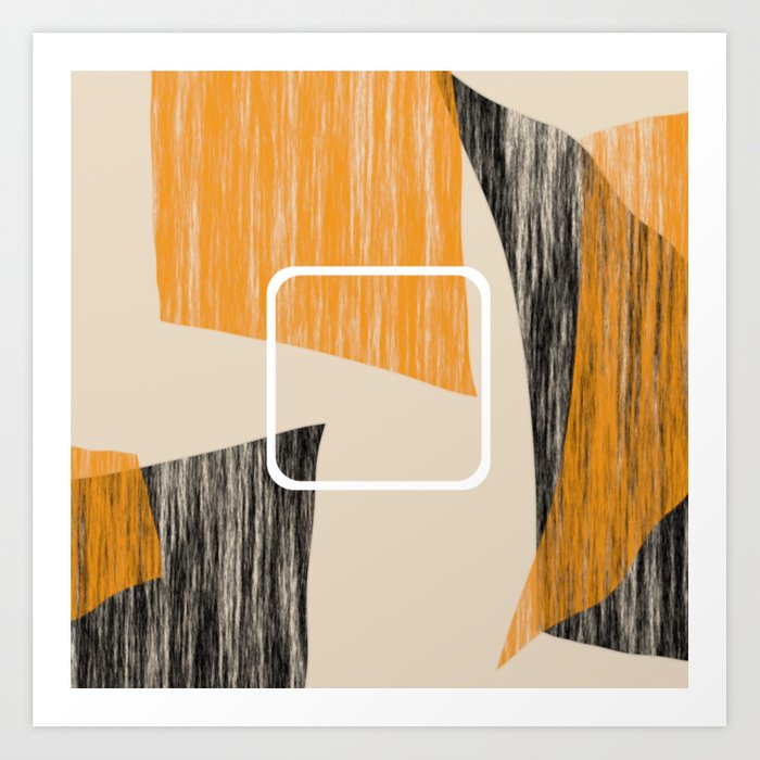Abstract textured artwork II Kunstdrucke
