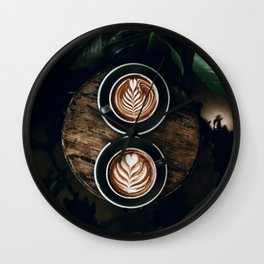 Latte Wall Clock
