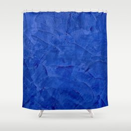 Pretty Blue Cases - Ombre - Stucco - Pillow - Classic Blue - Shower Curtains Shower Curtain