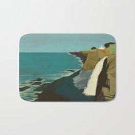 The Coast of California Bath Mat