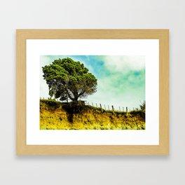Clinging on Framed Art Print