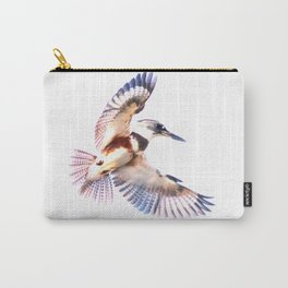 Colorful Kingfisher Carry-All Pouch