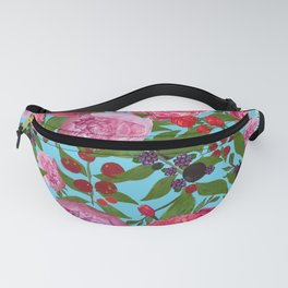 Roses and Fruit Fanny Pack