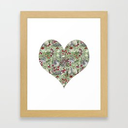 Buns in the Sun Framed Art Print