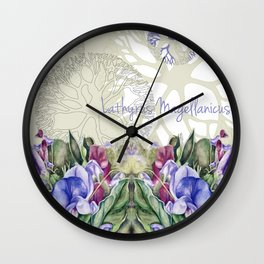 Lathyrus 4 Wall Clock