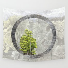 'Trees are sanctuaries' Wall Tapestry