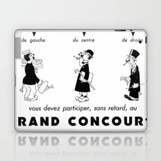 French Political Poster 1953 Laptop & iPad Skin