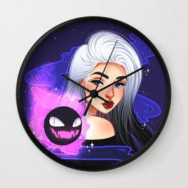 Gastly Wall Clock