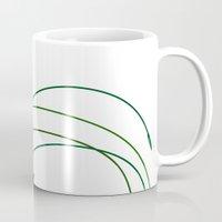 grass Mugs featuring Grass by DistinctyDesign