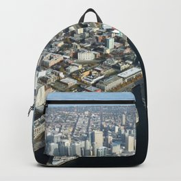 Seattle From Above Backpack