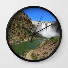 Morrow Point Dam Wall Clock
