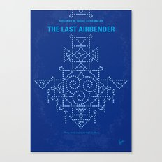 No764 My The Last Airbender minimal movie poster Canvas Print