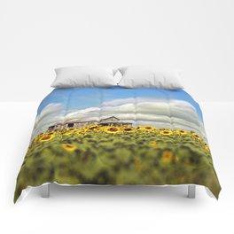The Sunflower Farm Comforters