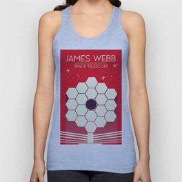 james webb space telescope, Unisex Tank Top