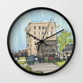 Residential Area Venlo Wall Clock