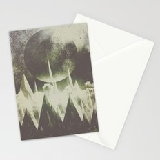 When mountains fall asleep Stationery Cards