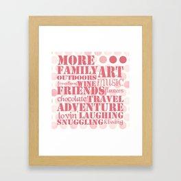 More...Happy (square) Framed Art Print